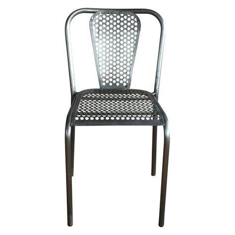 chaise métal industriel chaises style industriel chaises style industriel with