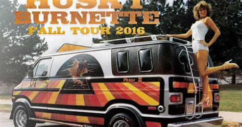 Husky Burnette Rolls Out The Shag Carpet For Fall Tour