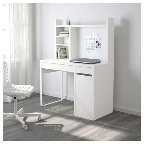 bureau micke micke workstation white 105x50 cm ikea