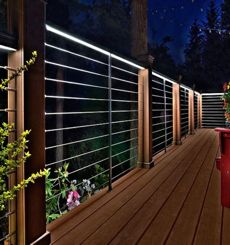 deck lighting kits 21 decking lighting ideas an important part of homes