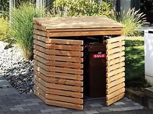 Unterstand Für Mülltonnen : m lltonnenbox geeignet f r 2 m lltonnen douglasie ~ Lizthompson.info Haus und Dekorationen