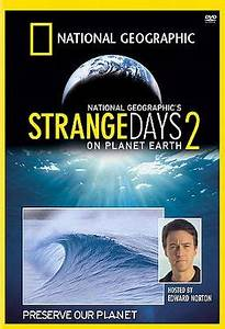 National Geographic - Strange Days on Planet Earth 2 DVD ...