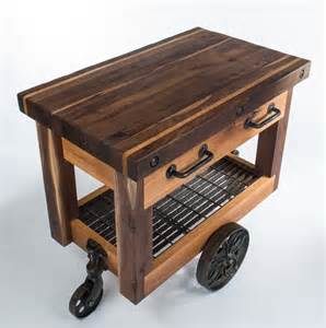 wood kitchen island cart butcher 39 s block cart eclectic kitchen islands and kitchen carts nashville by walnut wood