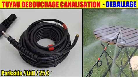 Tuyau Deboucheur Canalisation Parkside Lidl Debouchage Wc