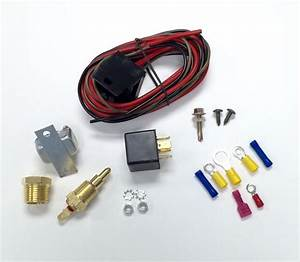 Hot Rod Electric Cooling Fan Wiring Install Kit 185  170