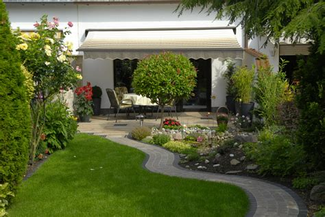 Garten Doppelhaushälfte Gestalten by Gartengestaltung Menzel Garten Und Landschaftsbau