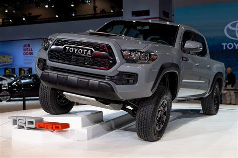 toyota tacoma 2017 toyota tacoma trd pro first look review