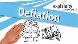 Inflation Und Deflation : deflation einfach erkl rt explainity erkl rvideo youtube ~ Watch28wear.com Haus und Dekorationen