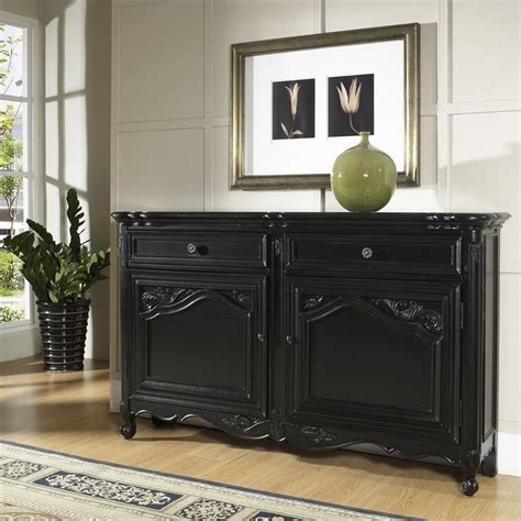 pulaski accents tara hall accent chest  black antique