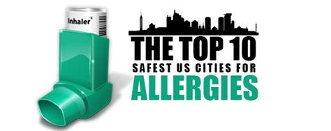The Top 10 Safest Us Cities For Allergies  Allergy Asthma