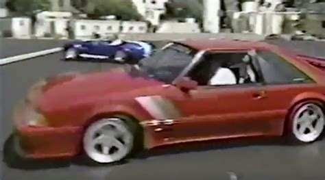 Tim Allen Mustang by Tim Allen Burnout Contest With Leno I