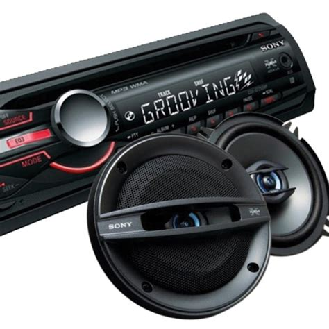 Sony Sony Stereo With Front Aux + Sony 10cm Speakers or 13cm Sony Speakers - STRSPK from Sony