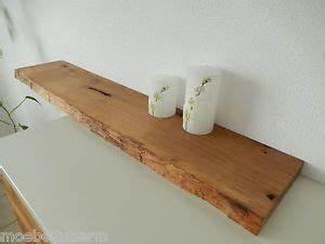 Wandboard Eiche Massiv : wandboard eiche wild massiv holz board regal steckboard regalbrett baumkante ebay ~ Orissabook.com Haus und Dekorationen