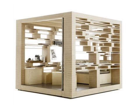 design a cube compact home office cubes by atelier