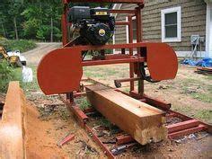 band sawmill plans crosswood model diy portable band