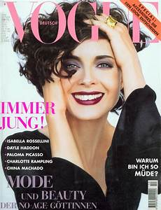 Isabella Rossellini Throughout the Years in Vogue ...