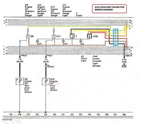 Clock Audi Wiring Diagram quattroworld forums towards replacing the instrument