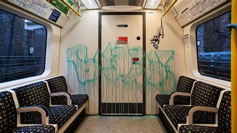 banksy kunstwerke  der londoner  bahn zdfmediathek