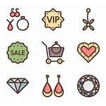 Jewelry Icons Icon Packs Vector Svg Diamond