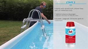 entretien et traitement de l39eau d39une piscine hors sol With traitement eau piscine hors sol