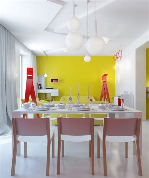 Small Apartment Zinging With Color by Small Apartment Zinging With Color