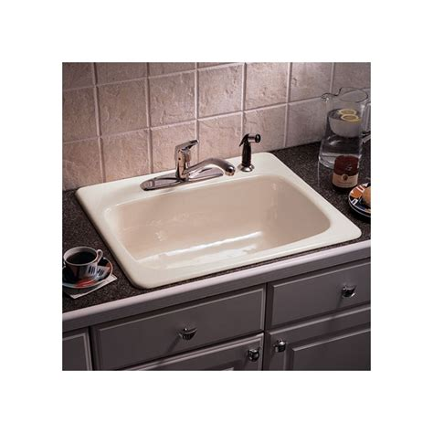 eljer kitchen sinks faucet 2121084 83 in almond by american standard 3554