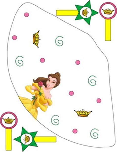 belle beauty  beast party hat princess party hats