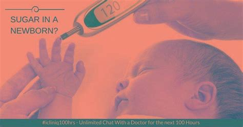 newborns blood sugar level