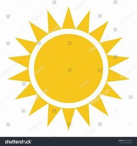 Yellow Sun Burst Icon Isolated On Stock Vector 387664834 ...