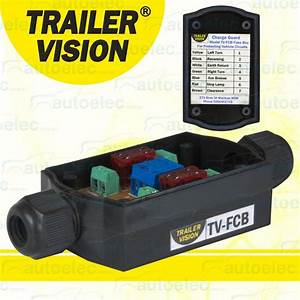 In Line Fuse Box Holder Tail Lights Lamps Trailer Caravan
