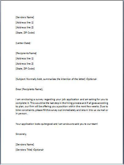 acknowledgement letter  written