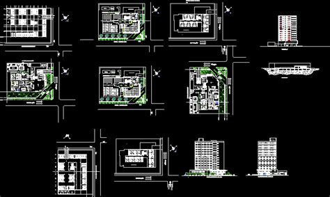 hotel dwg block  autocad designs cad