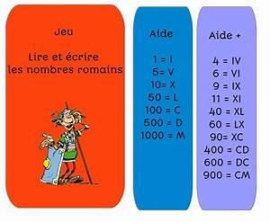 20 En Chiffre Romain : jeu nombres romains de deux choses l 39 une ecole jeux cm1 jeux science et cartes de ~ Melissatoandfro.com Idées de Décoration