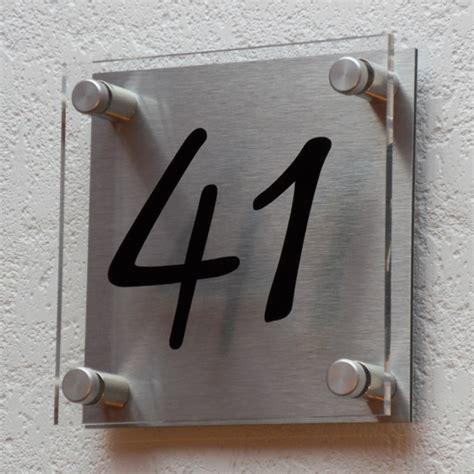 Plaque Numéro De Maison Personnalisé Creativ'sign