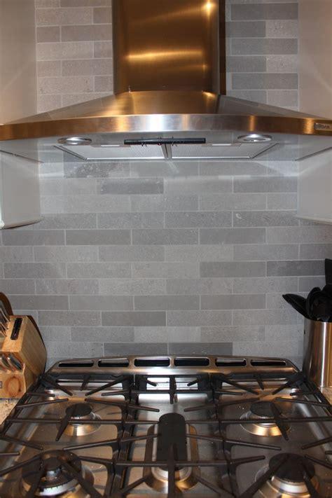 grey brushed backsplash home ideas grey stones and