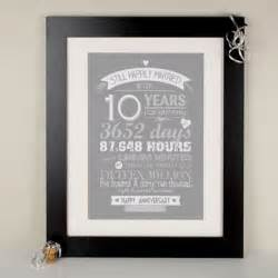 10 year wedding anniversary gift ideas for 2