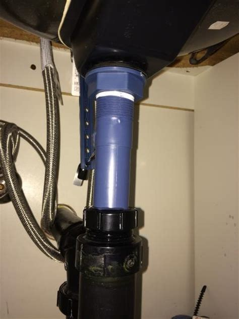 bathroom sink flange  gasket leaking doityourselfcom