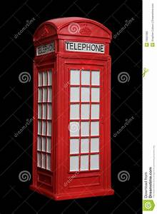 British Red Phone Booth Stock Photography