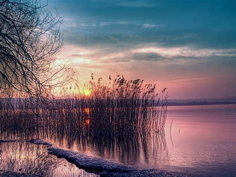 Crepúsculo Naturaleza Sunset Paisaje Fondos De Pantalla