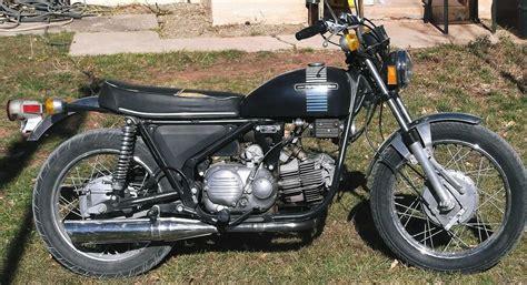 1973 Vintage Harley-davidson 350-ss Sprint Motorcycle