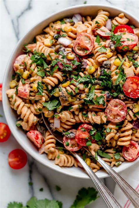 It's easy to make and even tastes great. vegan southwest pasta salad recipe (make-ahead) - plays well with butter