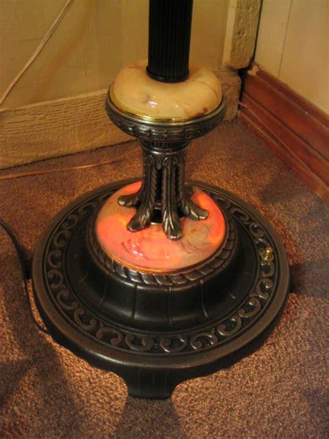 vintage floor l with light 213 for sale