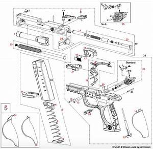 34 Smith Wesson Revolver Parts Diagram