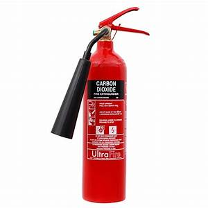 Ultrafire 2kg CO2 Fire Extinguisher - From £25.99 ex VAT