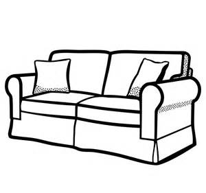 Black Sofa And Loveseat Set by Clipart Sofa Lineart