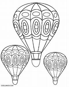 Printable Hot Air Balloon Coloring Pages For Kids | Cool2bKids