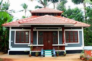 Kerala Traditional Low Cost Home Design 643 Sq Ft