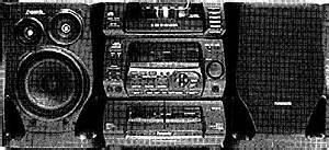 Panasonic Sa-ch74 - Manual - Cd Stereo System