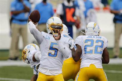 Chargers Angeles Tyrod Quarterback Taylor Nfl Chiefs
