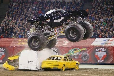 monster jam batman truck driver has monster love for monster jam the wichita